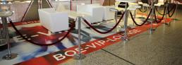 bedruckter PVC Fotoboden Loungeboden