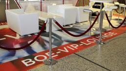 bedruckter PVC Fotoboden Lounge