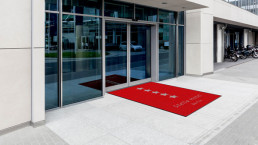 Fußmatte bedrucken Eingangsbereich