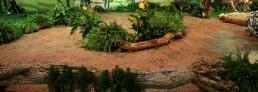 Bedruckter PVC Fotoboden Wald