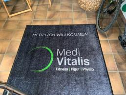 Fußmatte bedrucken Express Logomatten Werbematten